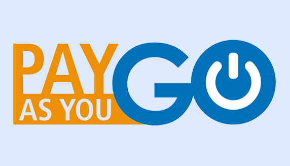 Pay_As_You_Go prepaid pack vooruitbetaald pakket e-signature